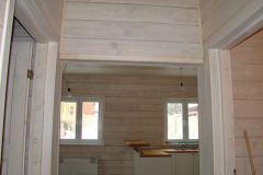 отделка внутри дачного дома