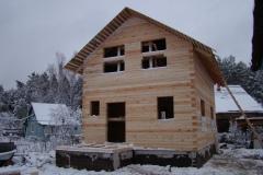 Построим дом из профилированного бруса